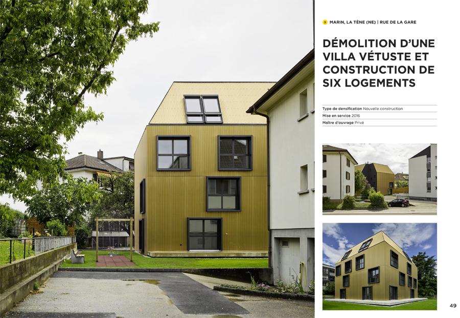 A voir, architecture romande, petit guide, 2015-2016 17.11.2016